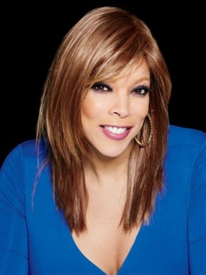 Pretty Wendy Williams Straight Lace Front Synthetic Wig