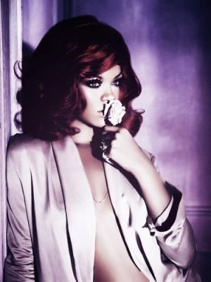 Rihanna's Short Wavy Sexy Human Hair Celebrity Wig