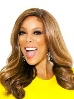 Affordable Wendy Williams Wavy Lace Front Synthetic Wig