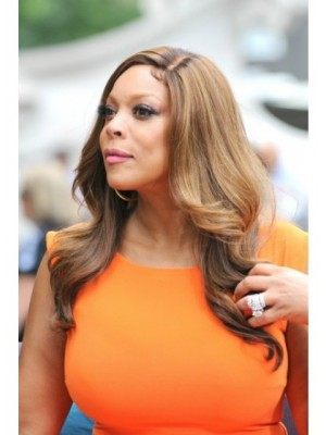 Popular Wendy Williams Wavy Lace Front Synthetic Wig