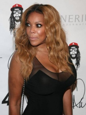 Smooth Wendy Williams Wavy Lace Front Synthetic Wig