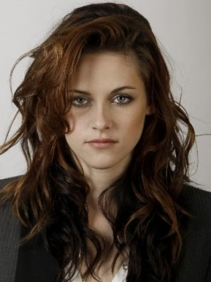 Good Kristen Stewart Wavy Lace Front Synthetic Wig