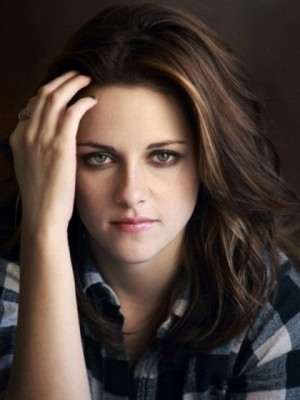 Straight Silky Kristen Stewart Wavy Lace Front Synthetic Wig