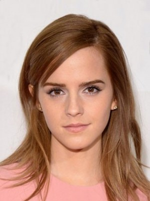 Gorgeous Emma Watson Straight Lace Front Synthetic Wig