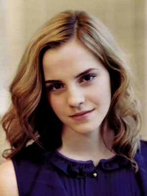 Classic Emma Watson Wavy Lace Front Remy Human Hair Wig