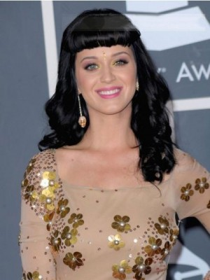 Katy Perry Capless Human Hair Celebrity Wig