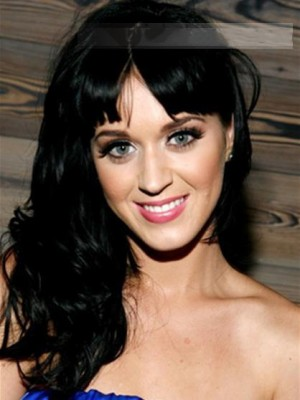 Katy Perry Long Wavy Capless Celebrity Wig
