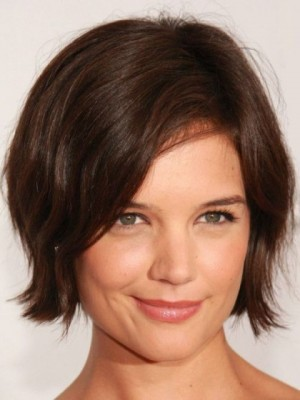 Chic Straight Remy Human Hair Lace Front Wig