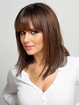 Cheryl Cole's Straight Lace Front Celebrity Wig