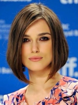 Keira Knightley Gorgeous Straight Lace Front Remy Human Hair Wig
