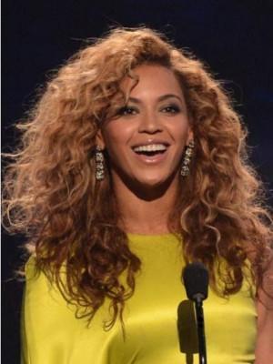 Beyonce's 100% Human Hair Long Wavy Celebrity Wig