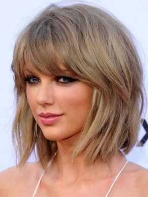 Taylor Swift Striking Straight Capless Remy Human Hair Wig