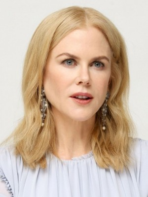 Nicole Kidman Elaborately Wavy Lace Front Remy Human Hair Wig