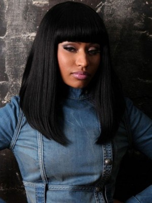 Nicki Minaj's Long Wavy Remy Hair Celebrity Wig