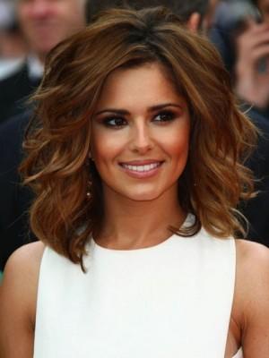Cheryl Cole Shoulder Length Tousled Waves Celebrity Wig