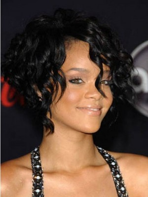 New Rihanna's Short Hair Capless Celebrity Wig
