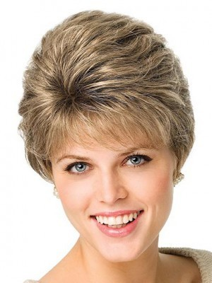 Gorgeous Wavy Synthetic Capless Wig