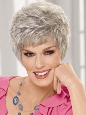 Lightweight Style Gray Wig