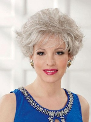 2016 New Style Short Gray Wig