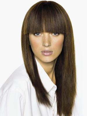 TopQuality Brazilian Remy Hair Straight Capless Wig