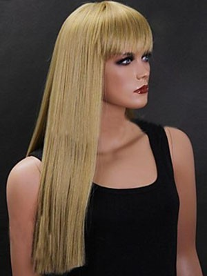 Glamorous Brazilian Remy Hair Straight Capless Wig