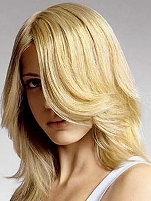 Pretty Brazilian Remy Hair Straight Capless Wig