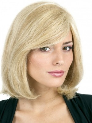 Most Popular Remy Human Hair Straight Capless Wig