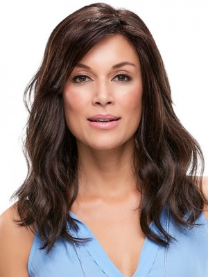 Fabulous Wavy Remy Human Hair Lace Front Wig