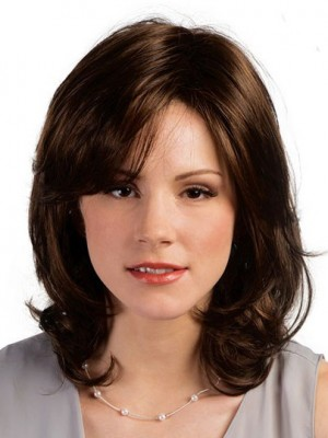 Magnificent Remy Human Hair Wavy Capless Wig