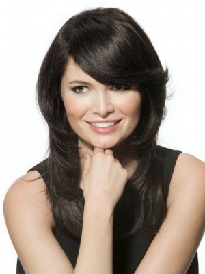 Modern Straight Capless Remy Human Hair Wig