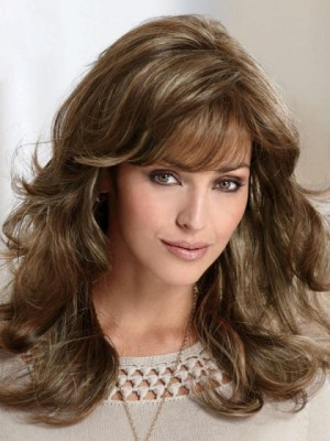 New Style Wavy Capless Remy Human Hair Wig