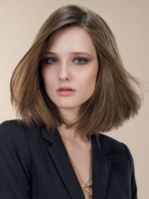 Marvelous Straight Lace Front Remy Human Hair Wig