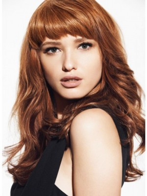 Sweet Wavy Capless Remy Human Hair Wig