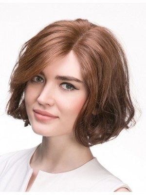 Comfortable Wavy Lace Front Remy Human Hair Wig