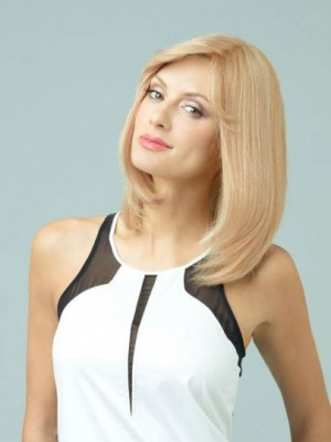 Comfortable Lace Front Straight Remy Human Hair Wig