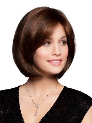 Popular Lace Front Straight Remy Human Hair Wig