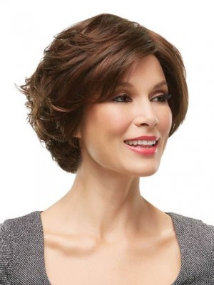 Top Quality Lace Front Remy Human Hair Wavy Wig
