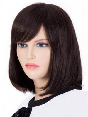Pretty Remy Human Hair Straight Capless Wig