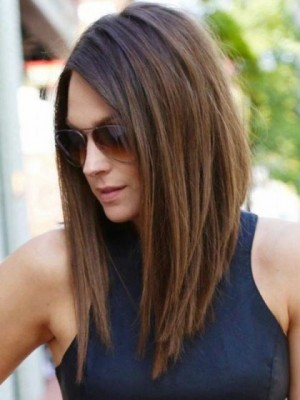 Amazing Lace Front Remy Human Hair Straight Wig