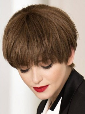 Good Looking Capless Straight Remy Human Hair Wig