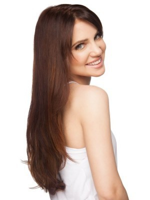 Elegant Lace Front Straight Remy Human Hair Wig