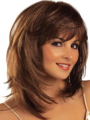 Gorgeous Capless Remy Human Hair Straight Wig