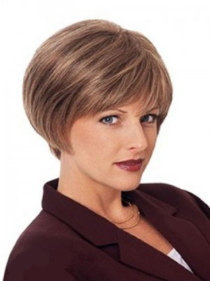 Classic Capless Straight Remy Human Hair Wig