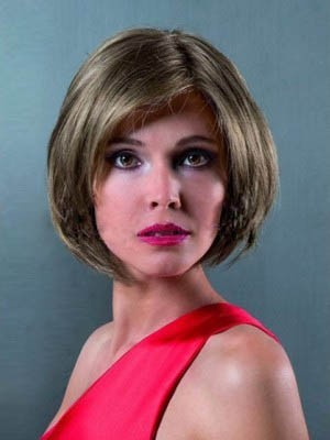 Fashionable Bob Style Remy Human Hair Chin Length Wig