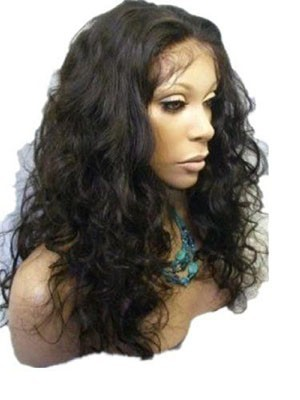 Natural Lace Front Human Hair Chemotherapy Wig
