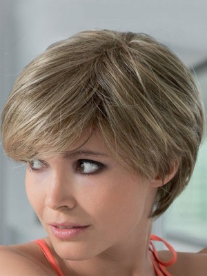 Polished Silk Straight Short Lace Front Human Hair Wig