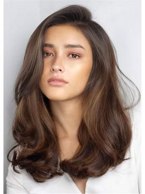 Fabulous Long Wavy Full Lace Human Hair Wig