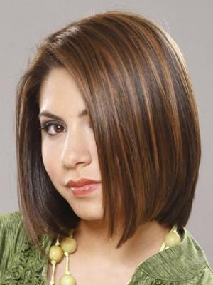 Magnificent Soft Medium Straight Human Hair Wig