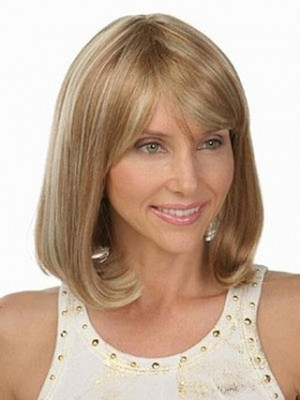 New Style Lovely Wavy Human Hair Wig