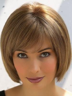 Charming Short Cut Bob Style Remy Human Hair Wig